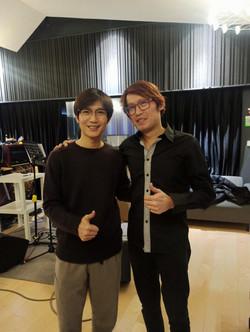 Photo with Chen Chu Sheng