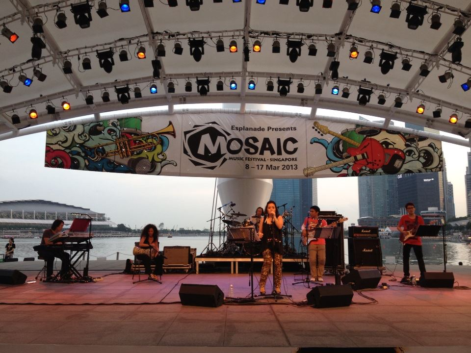 Chronicles 5 performing at Mosaic