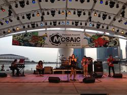 Chronicles 5 performing at Mosaic