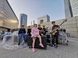 Band Photo Backstage
