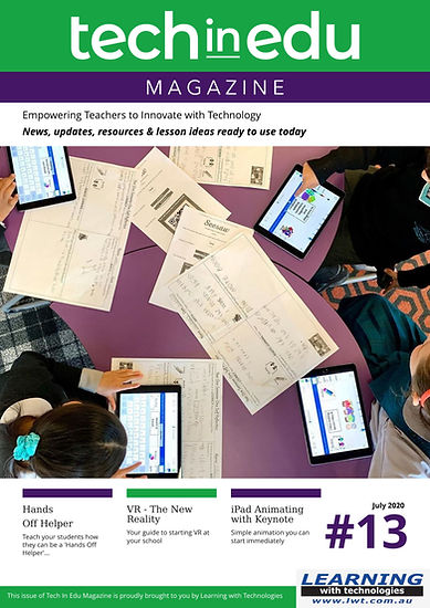 Tech In Edu Magazine Issue #13 - Untitle