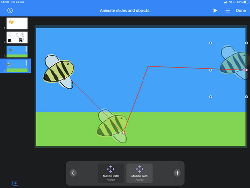 Get Animating with Keynote for iPads