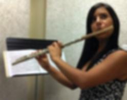Geraldine morillo barazarte, flute lessons in Lowell, Flute Studio