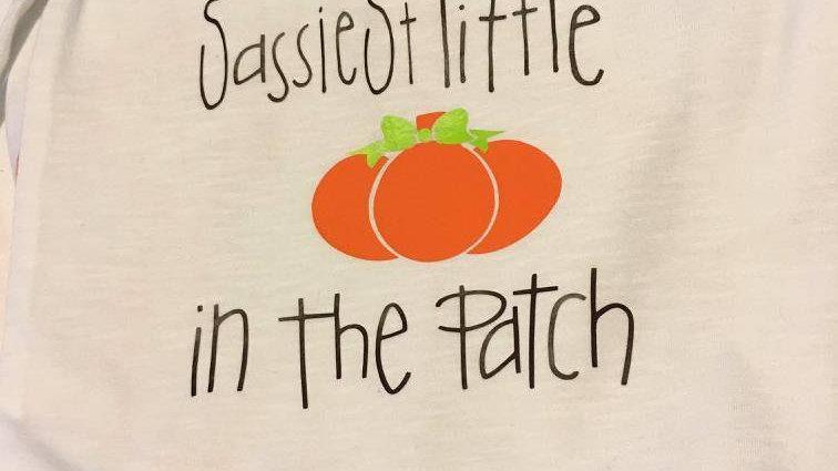 Little Pumpkin Vinyl Design
