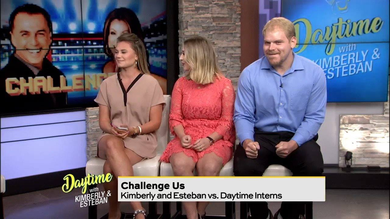 Daytime Gametime: Anchors vs. interns