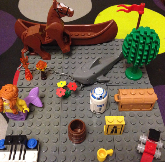 Three Fun Activities with LEGO