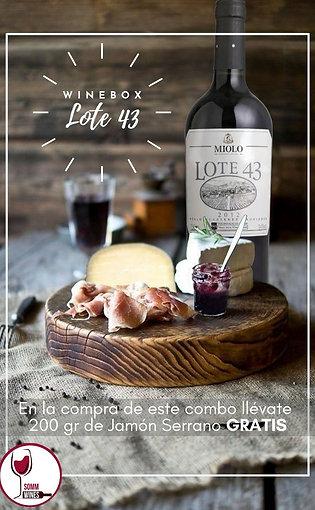 Wine Box Lote 43