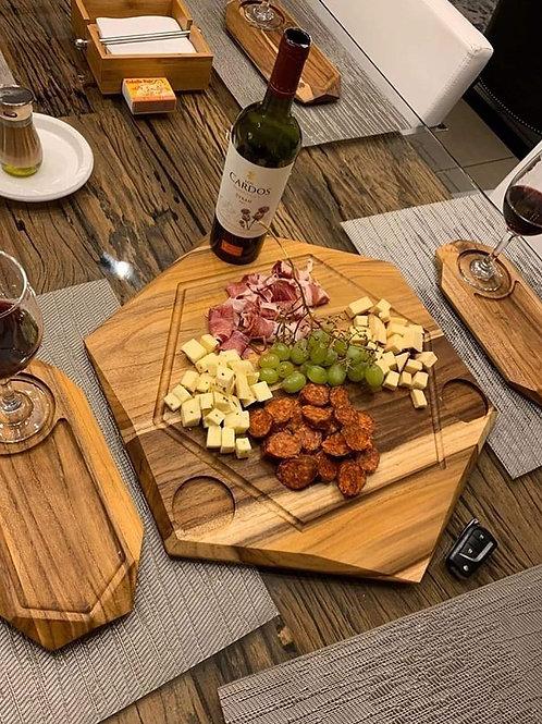 """Tabla """"Wine and Cheese"""""""