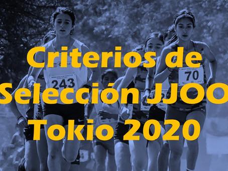 Criterios de Selección a los JJOO Tokio 2020, actualizados al 20 de Marzo de 2021