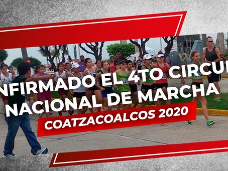 Confirmado el 4to Circuito Nacional de Marcha Coatzacoalcos 2020