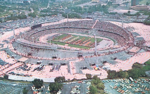 Estadio Olímpico Universitario 12 de Octubre de 1968