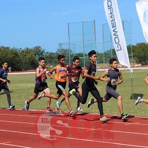 Gran actividad atlética en Campeche
