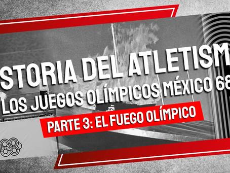 Historia del Atletismo los Juegos Olímpicos México 68 - Parte III