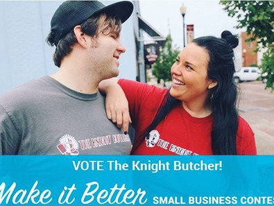 VOTE for THE KNIGHT BUTCHER!