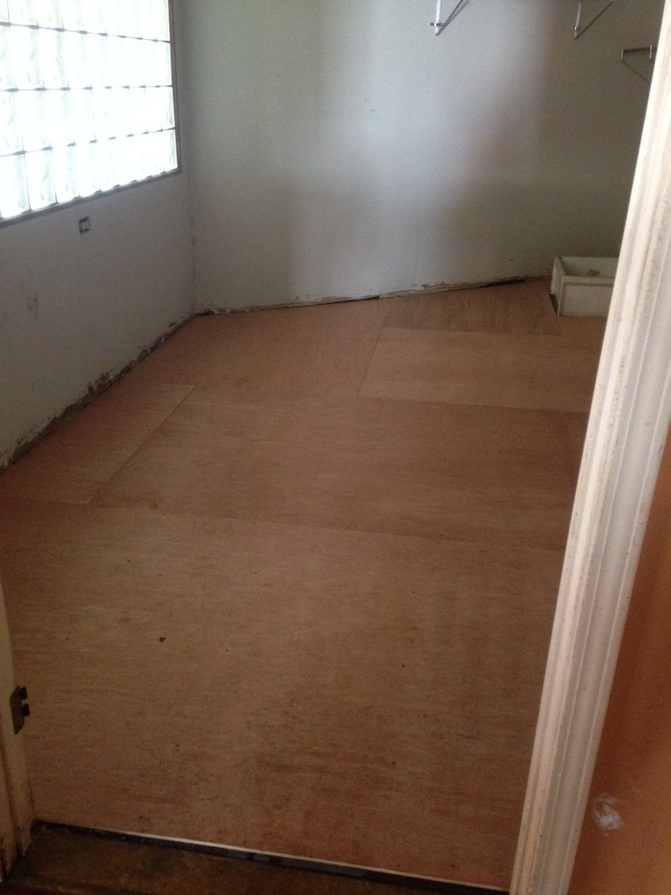 Ready for flooring now!