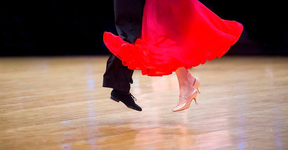 Man and woman dancer latino internationa