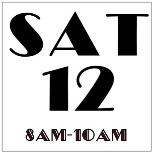 PRIORITY BOOKING SATURDAY OCT 12, 2019 8AM-10AM