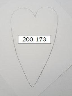 DESIGN OBLONG HEART 1
