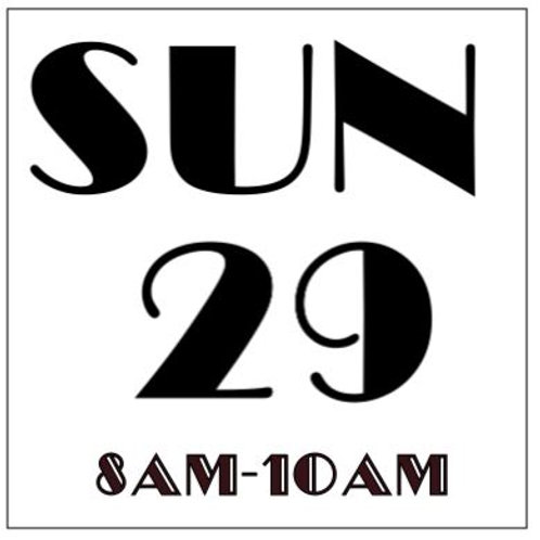 PRIORITY BOOKING SUNDAY SEPT 29, 2019 8AM-10AM