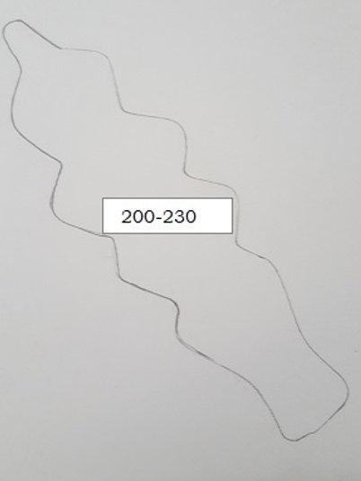 LONG NARROW LEAF DESIGN