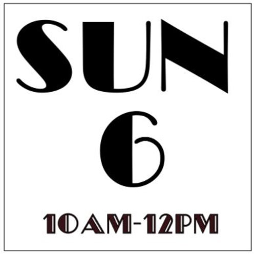 PRIORITY BOOKING SUNDAY OCT 6, 2019 10AM-12PM