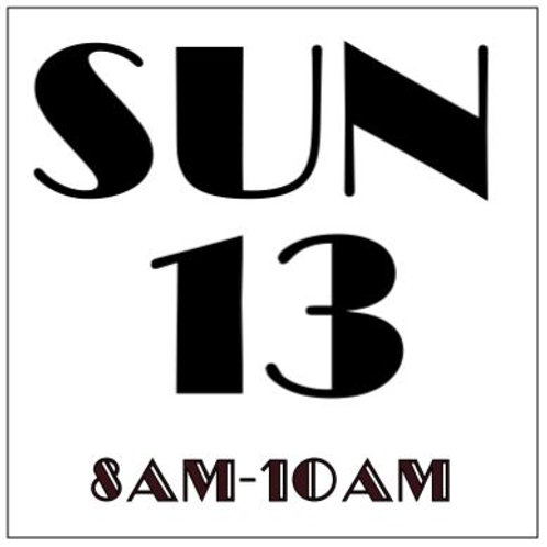 PRIORITY BOOKING SUNDAY OCT 13, 2019 8AM-10AM