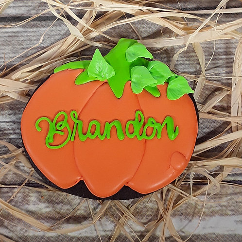Qty 10 Personalized Halloween Pumpkins