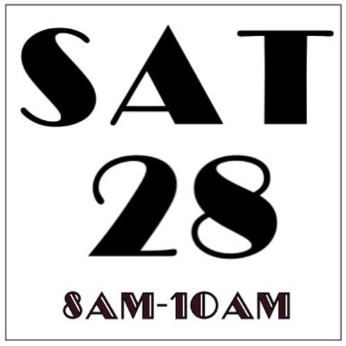 PRIORITY BOOKING SATURDAY SEPT 28, 2019 8AM-10AM