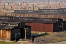 Auschwitz barracks vandalized With Antisemitic Slurs