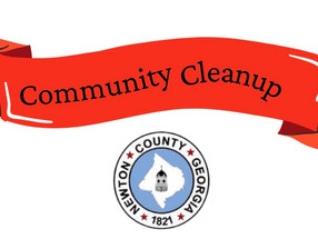 Saturday, September 18, 9AM Newton County Bicentennial District 4 Cleanup