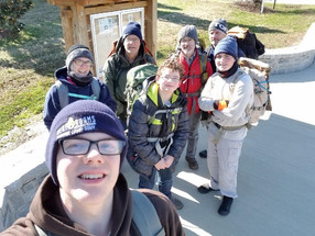 CRICKET FROG TRAIL SAVES THE DAY FOR TROOP 211