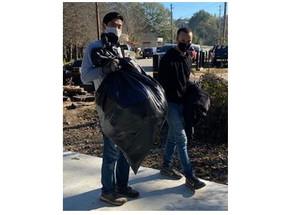 Trail Cleanup a Success!
