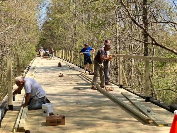 Bridge Building a Success!