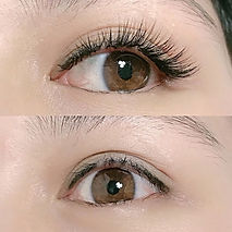facial eyelashes extension