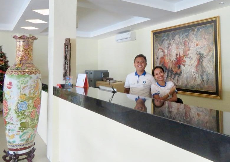 Ombak friendly staff