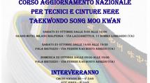 Corso di aggiornamento nazionale per tecnici e cinture nere Taekwondo Song Moo Kwan