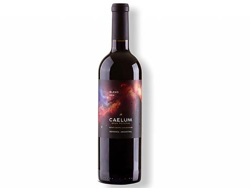 botella de vino Caelum Gran Reserva Blend