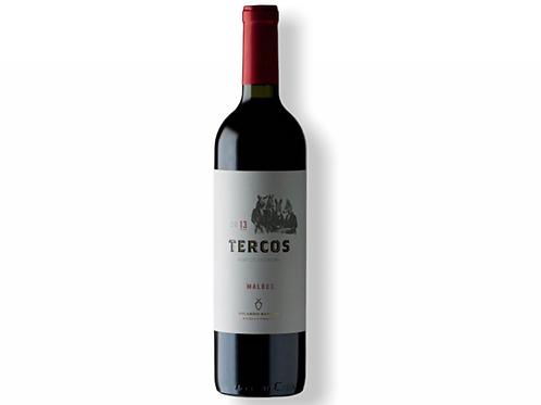 botella de vino Tercos Malbec