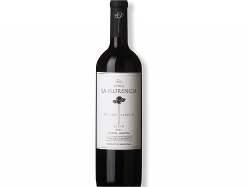 botella de vino Finca La Florencia Blend Especial Malbec Syrah