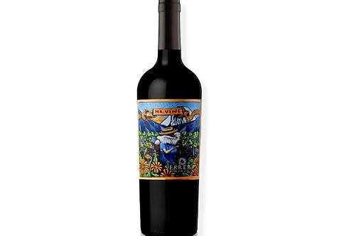 Botella de vino Serrera Mr. Vine Blend Orgánico