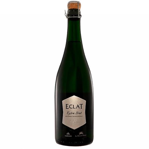 botella de vino espumante Eclat Plata