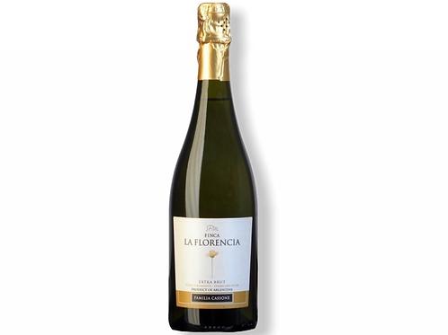botella de vino espumante Finca La Florencia Extra Brut