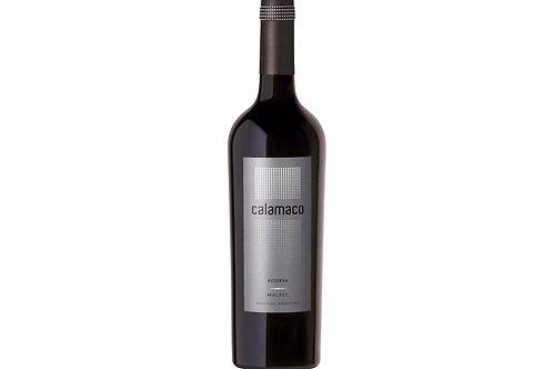 Botella de Vino Calamaco Reserva Malbec