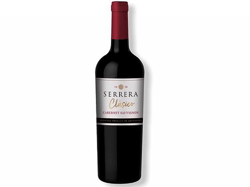 Botella de vino Serrera Clásico Cabernet Sauvignon