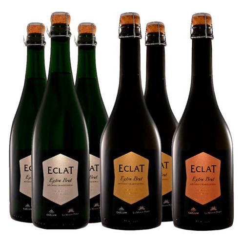 Caja Mixta Espumantes Eclat - 6 botellas