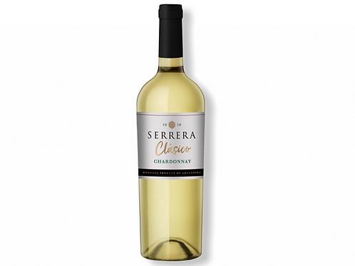 Botella de Vino Serrera Clásico Chardonnay