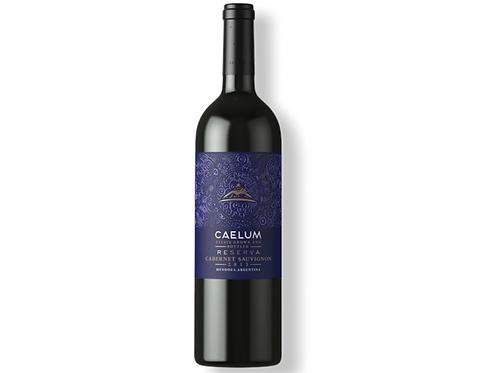 Botella de vino Caelum Cabernet Sauvignon Reserva