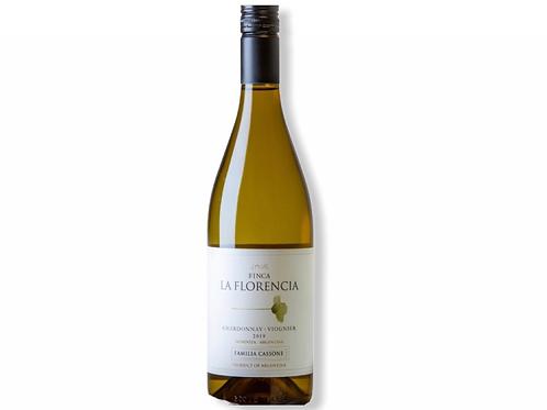 botella de vino Finca La Florencia blend Chardonnay Viognier