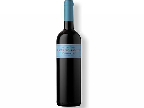 Botella de vino Ricardo Santos Bonarda