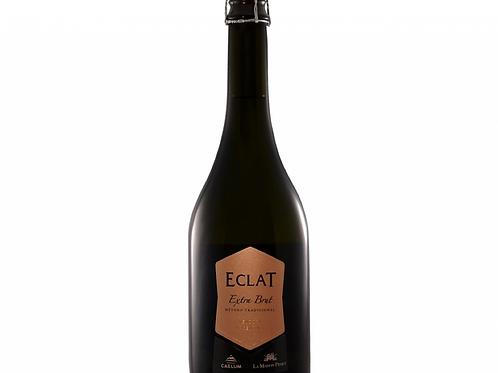 botella de vino espumante Eclat Reserva